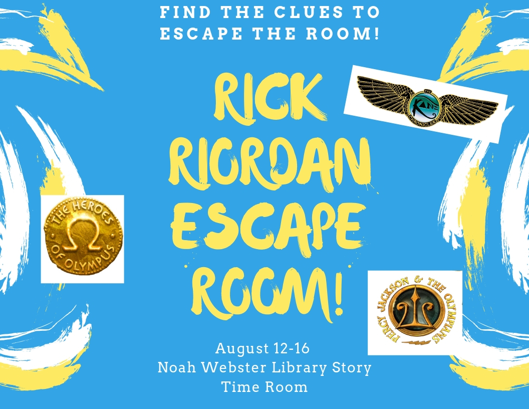 Rick Riordan Escape Room