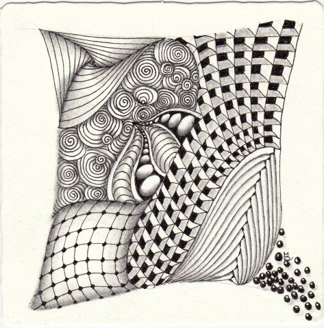 Photo: Zentangle
